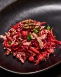Roasted Beet Salad with Carrots and Nuts