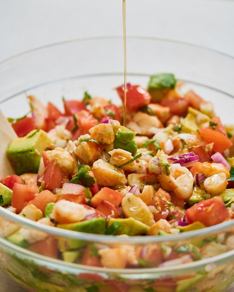 Shrimps Ceviche