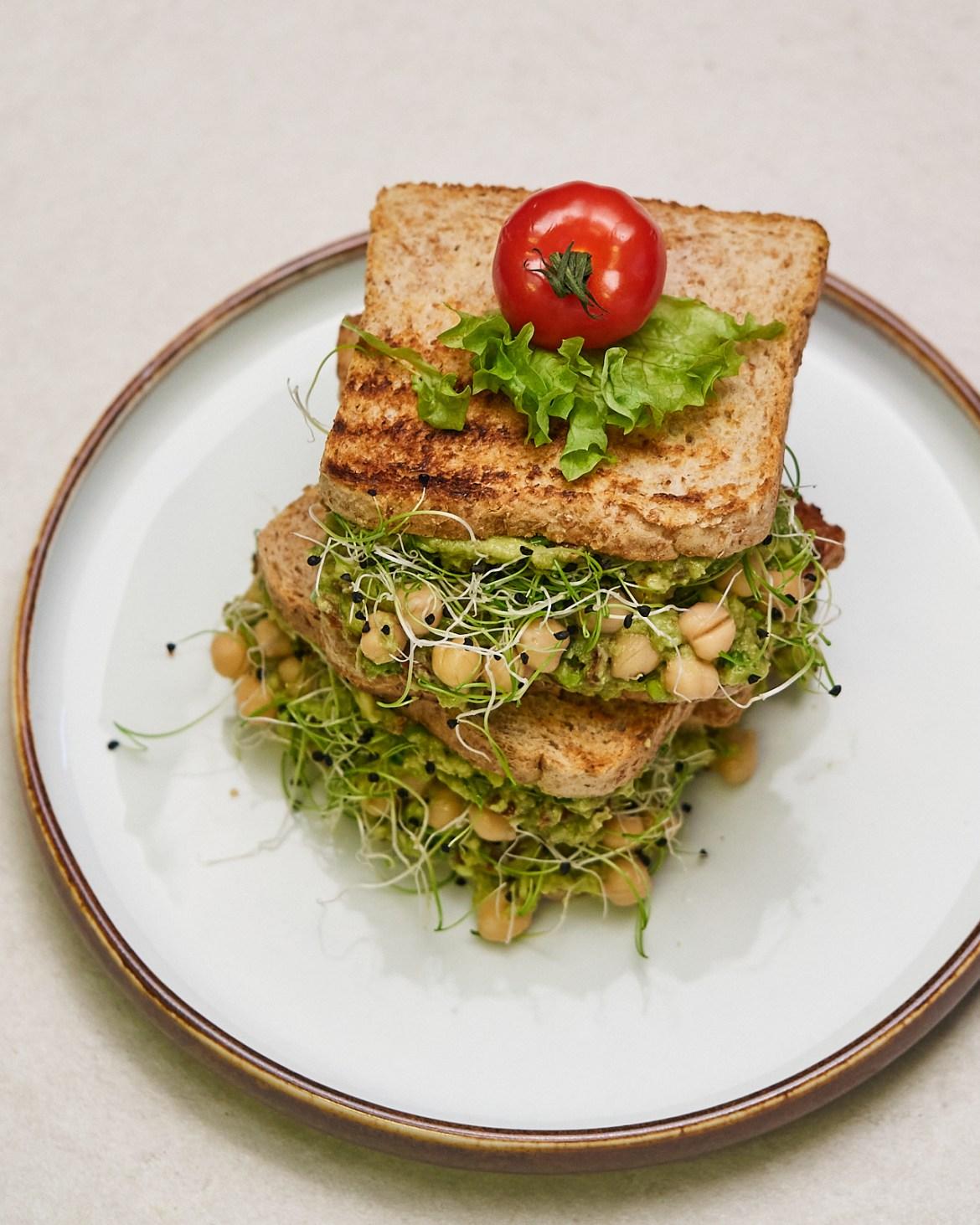 avocado chickpea sandwich recipe