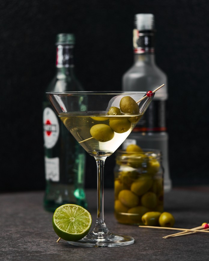 Christmas Dirty Martini With Vodka Delice Recipes