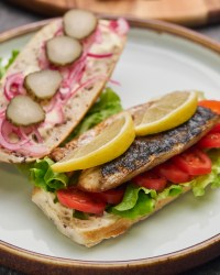 Ultimate Fish Sandwich with Herring