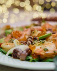 Citrus Seafood Salad with Avocado
