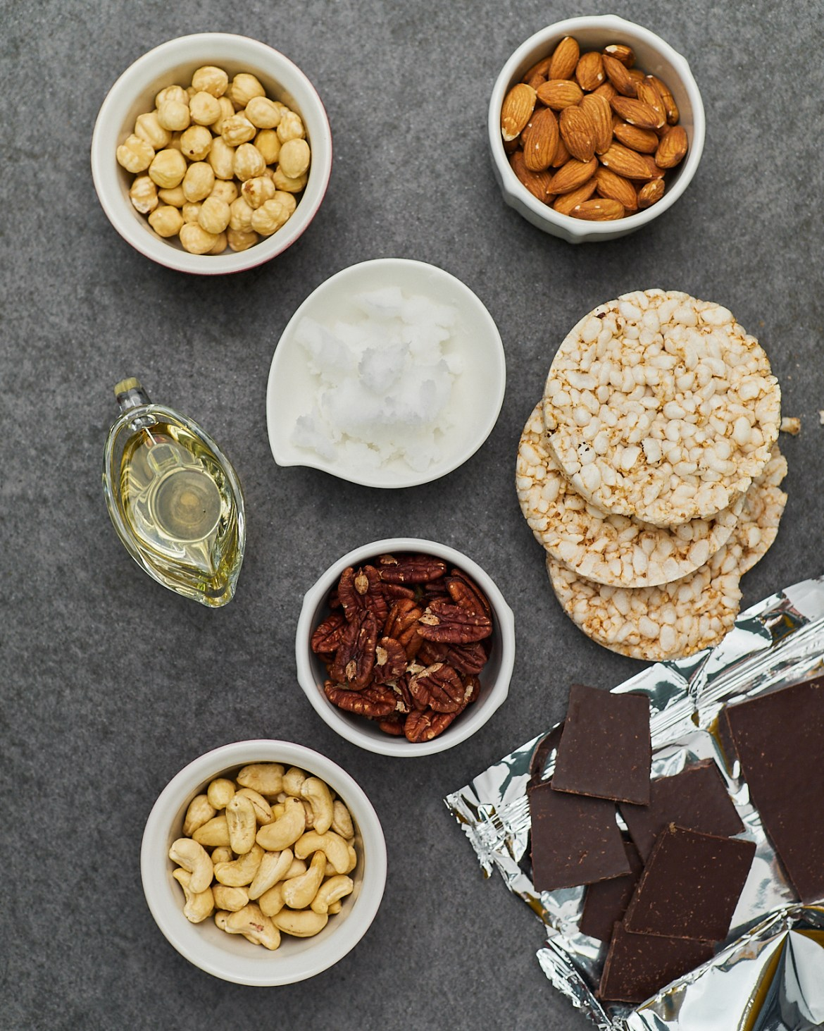 ingredients for cereal bars