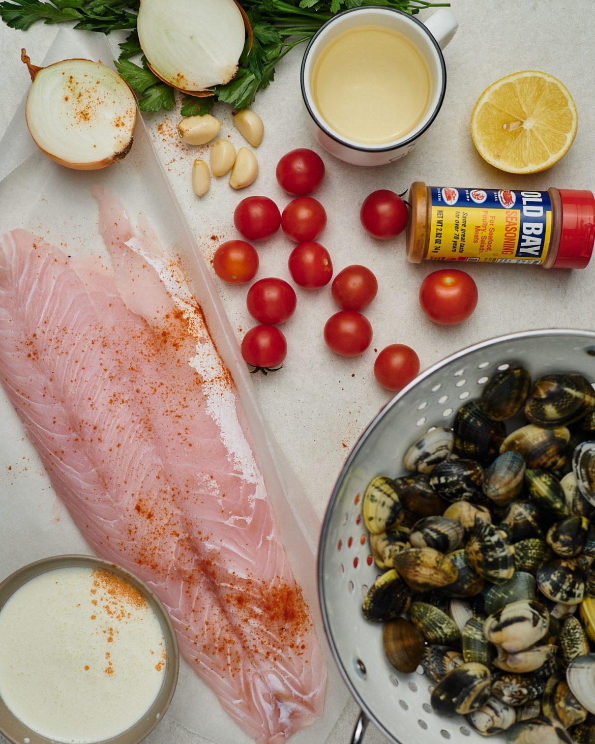ingredients seafood soup recipe