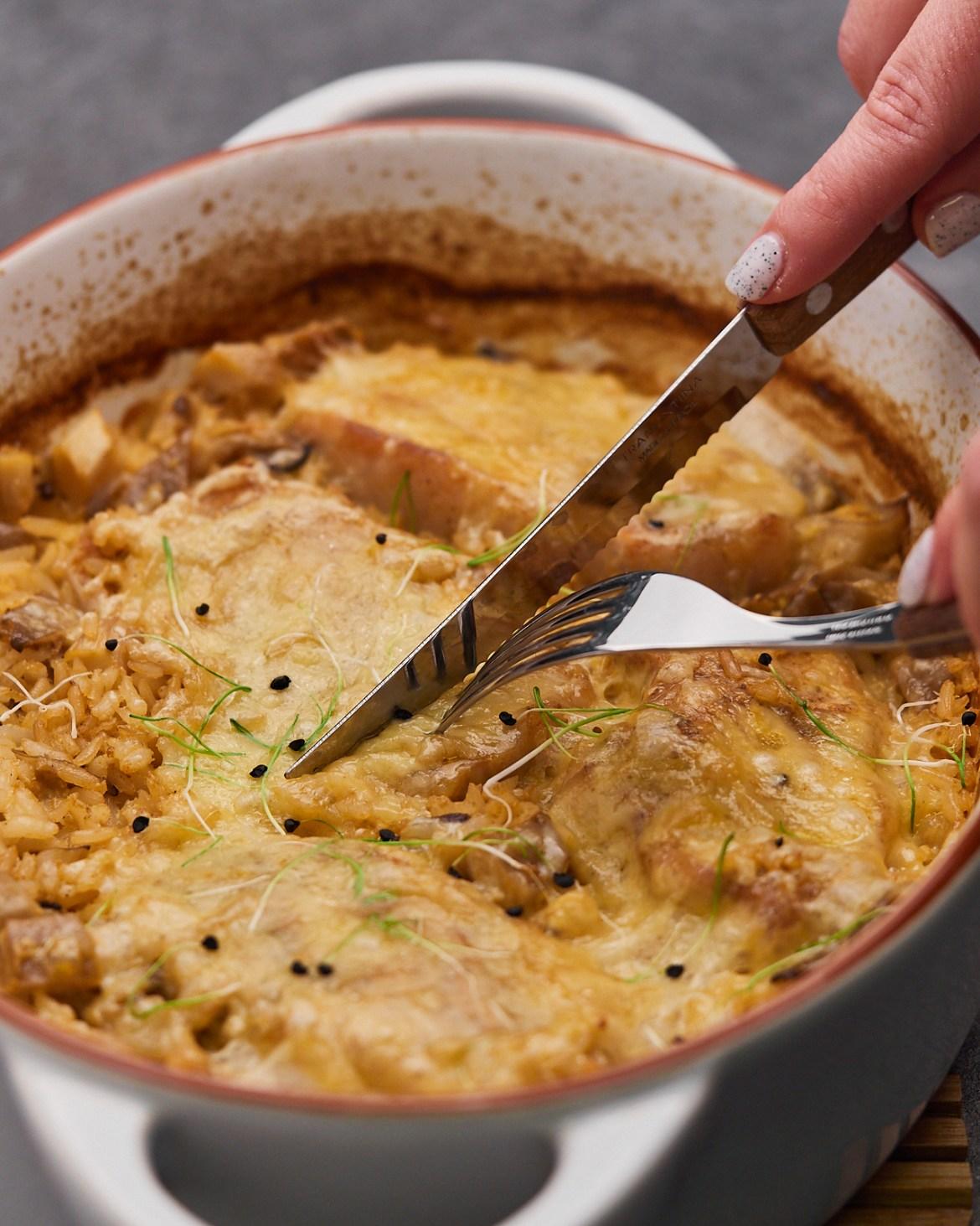 pork chops casserole