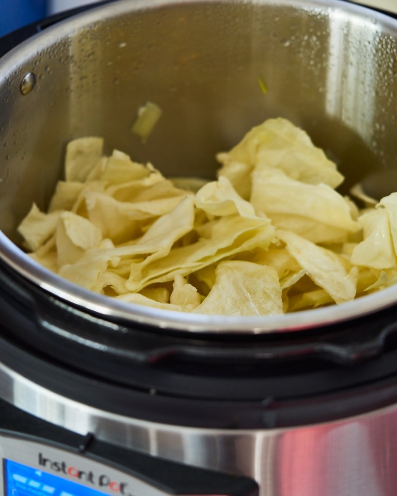 Soft and Aromatic Instant Pot Cabbage