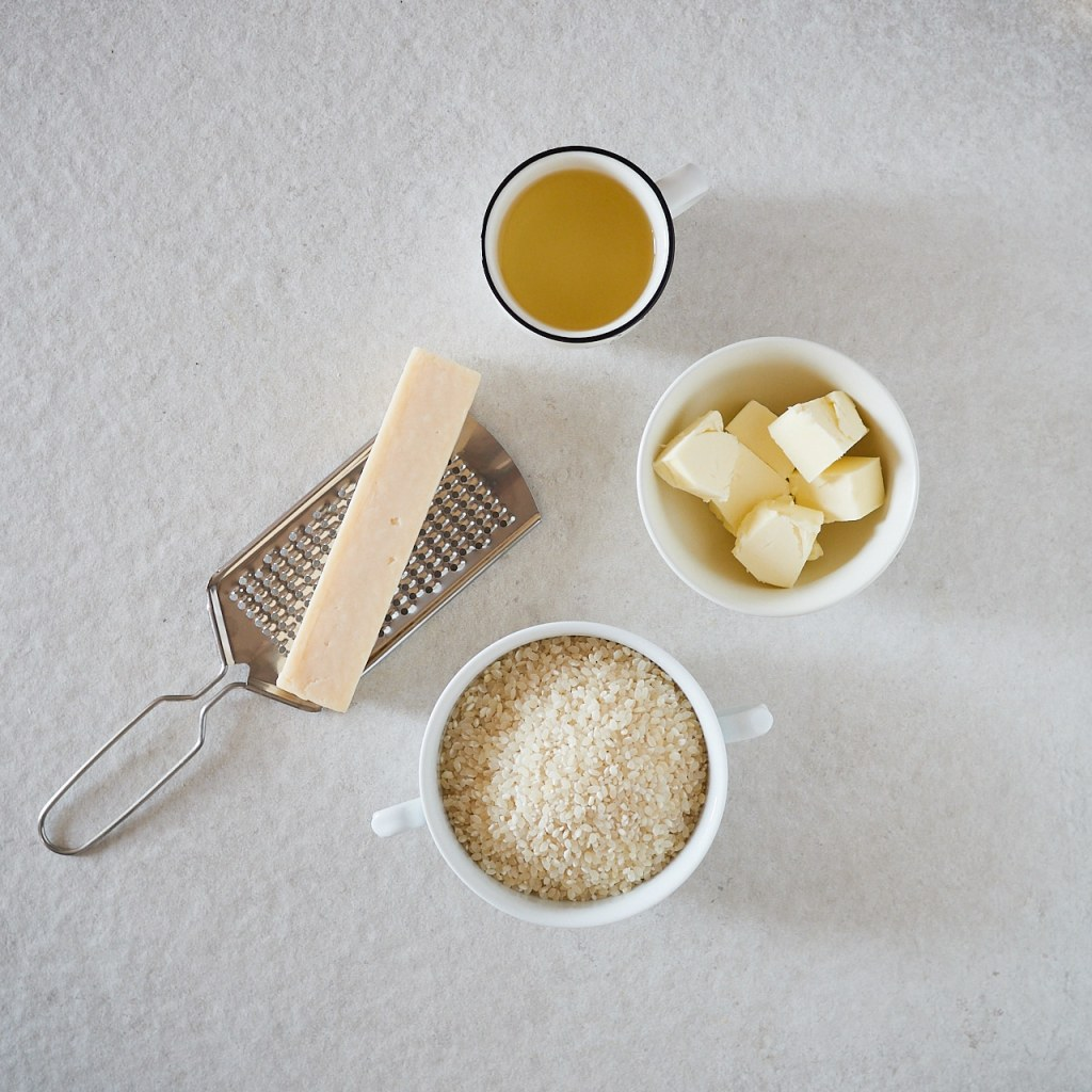 Classic Instant Pot Risotto Ingredients