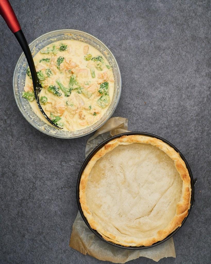 Easy Homemade Salmon Quiche