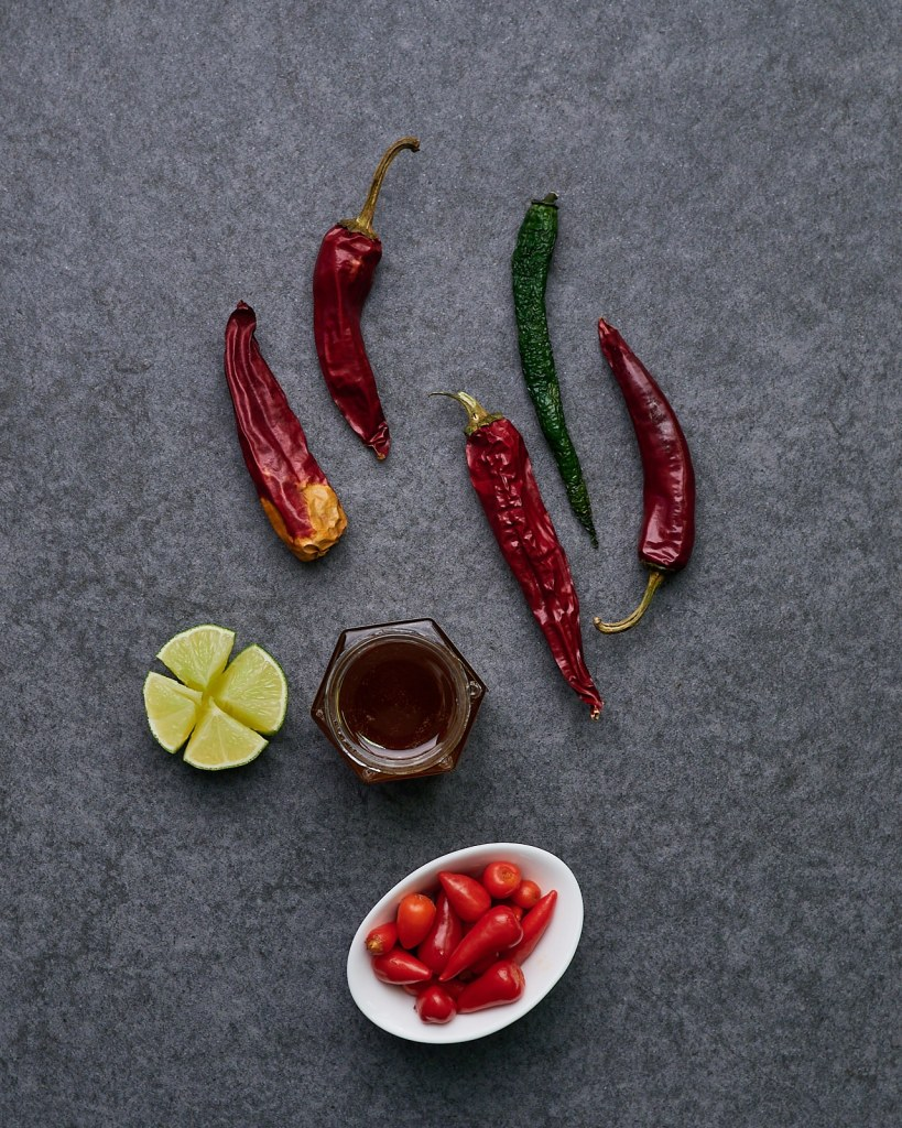 Spicy and Hot Honey Sauce Ingredients