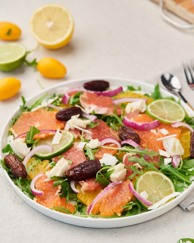 Refreshing Citrus Salad with Dates