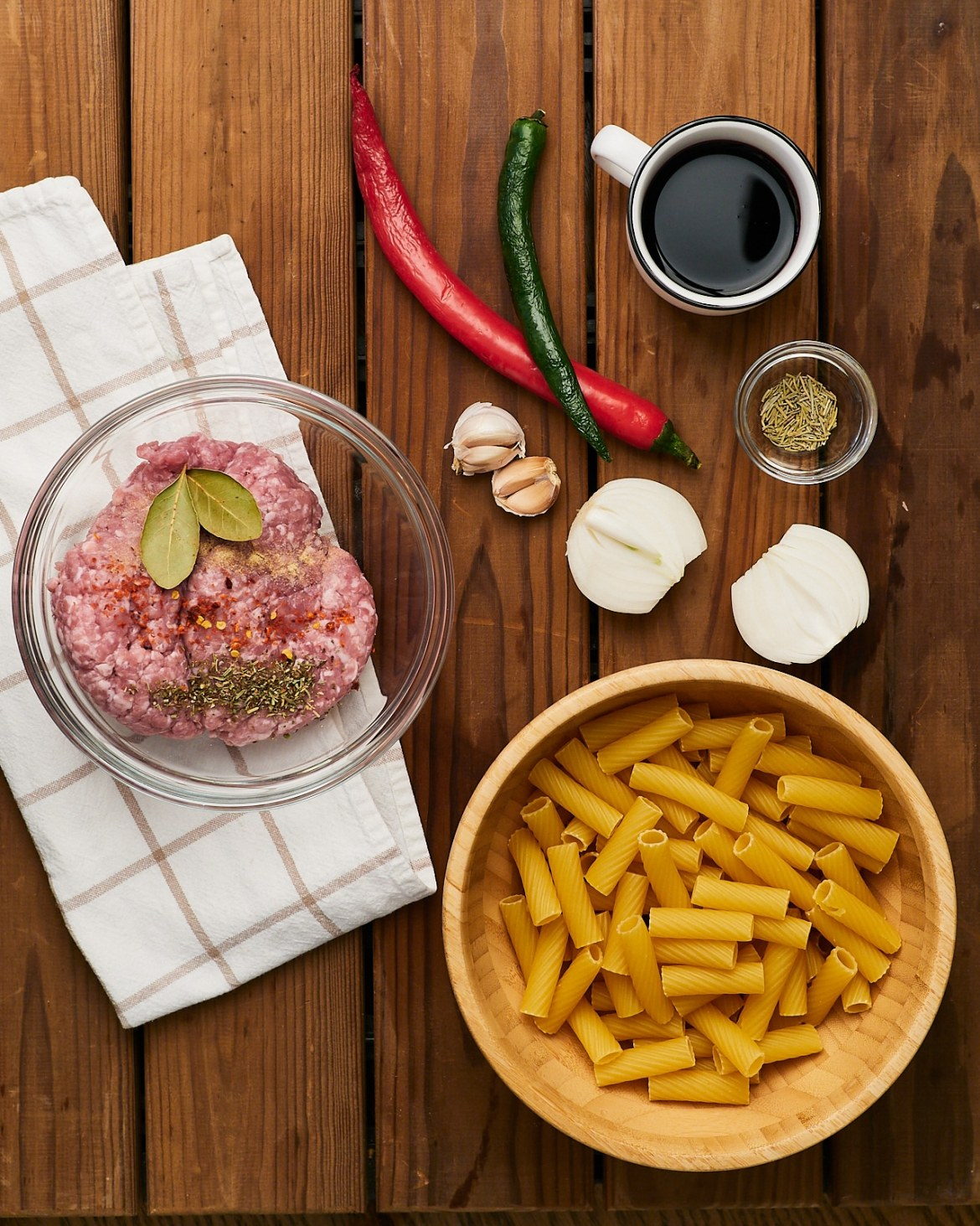 ingredients rigatoni bolognese