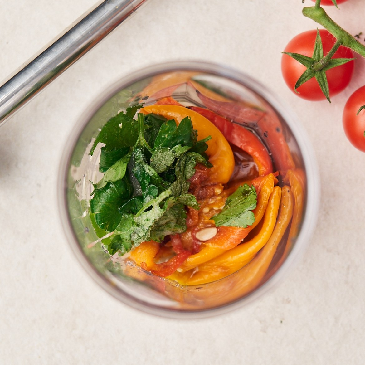 how to make cream cheese dip with bell peppers