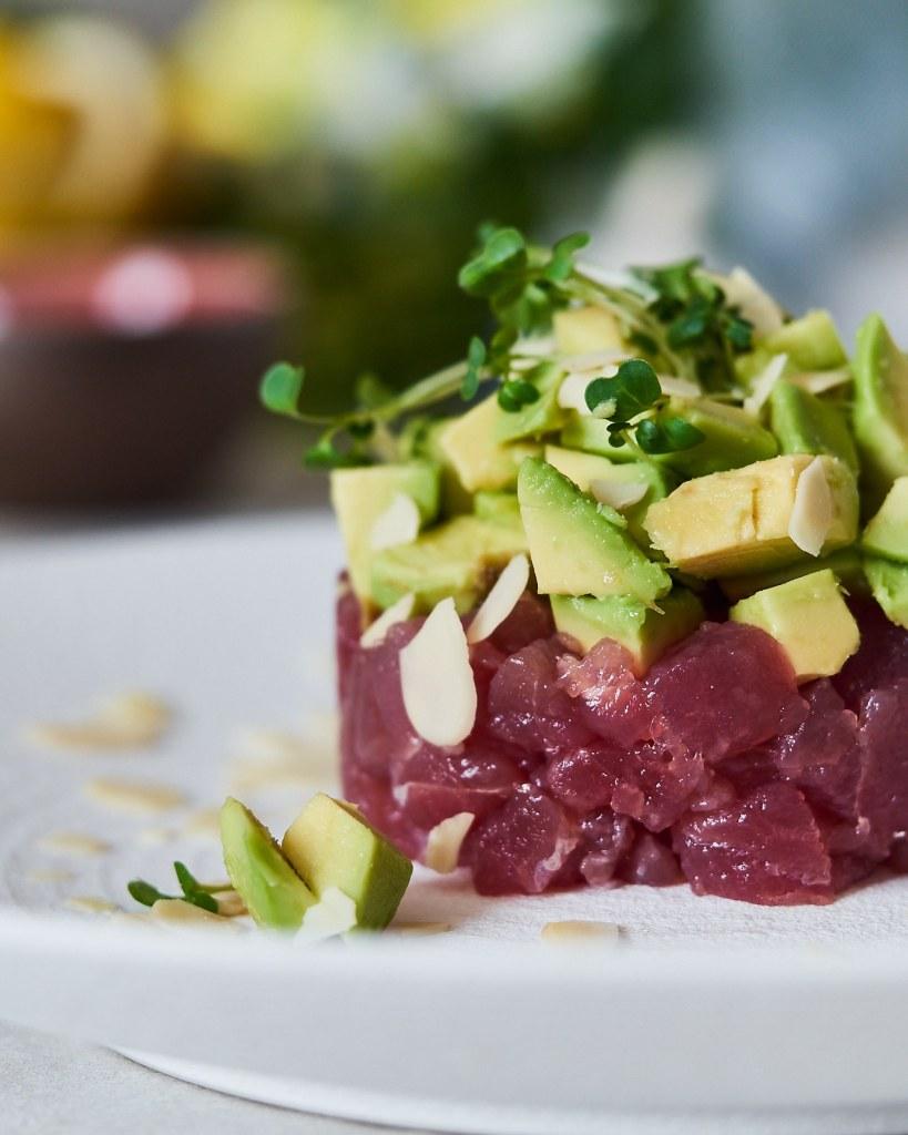 Tuna Tartare in Soy Sauce