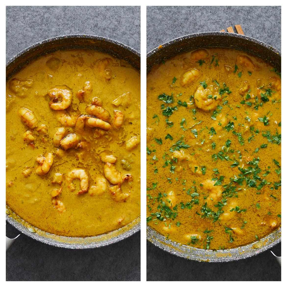 how to cook shrimp coconut curry