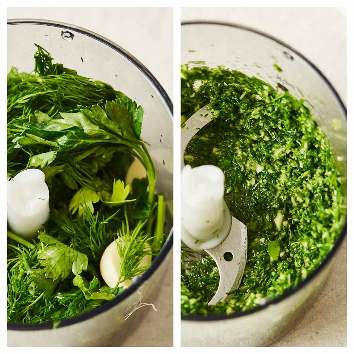 how to make parsley garlic dressing