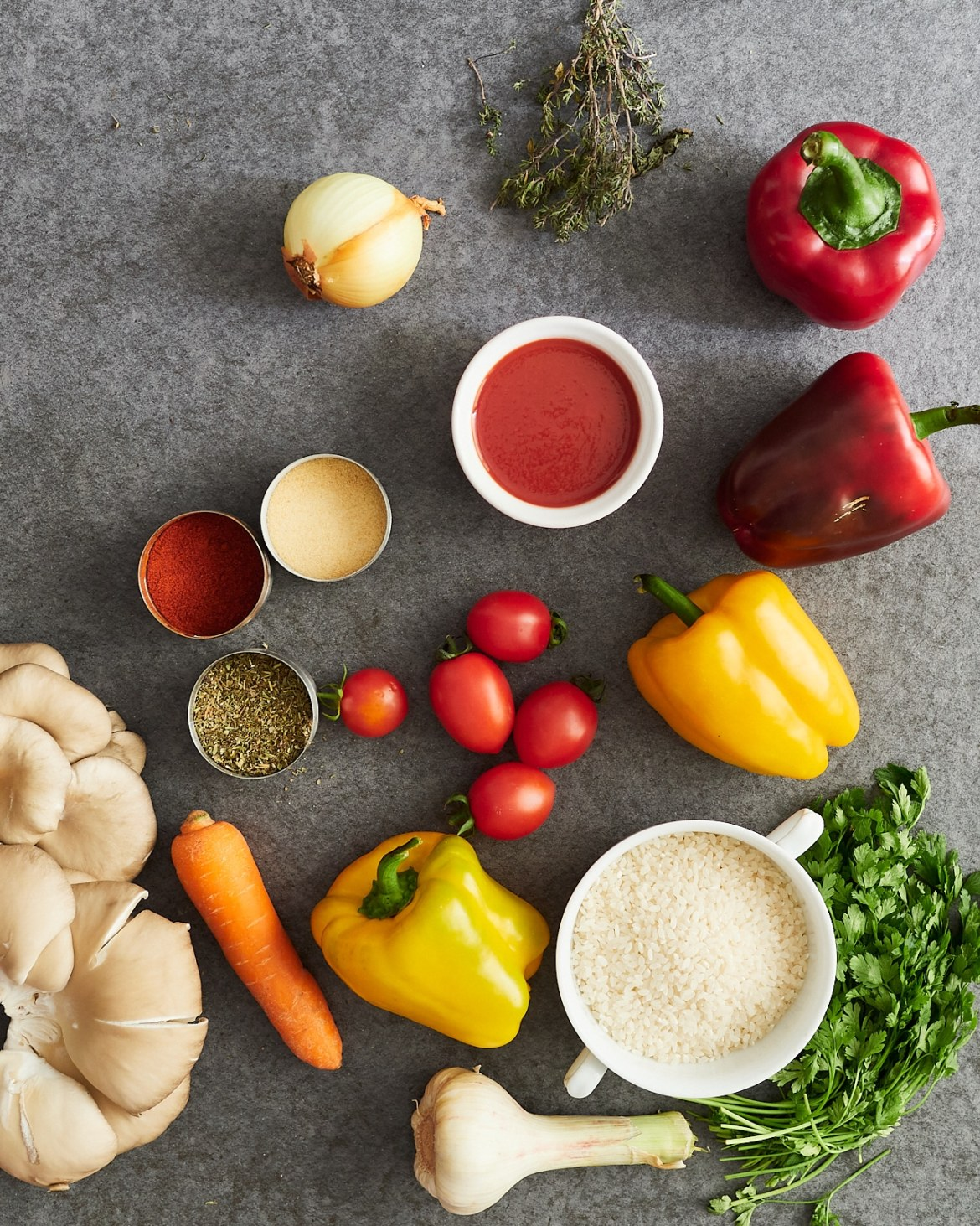 ingredients stuffed bell peppers