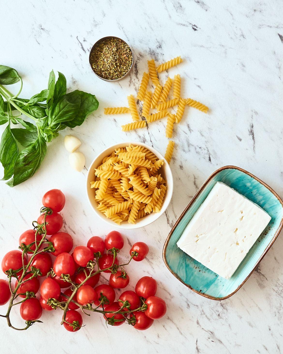 ingredients instant pot feta pasta