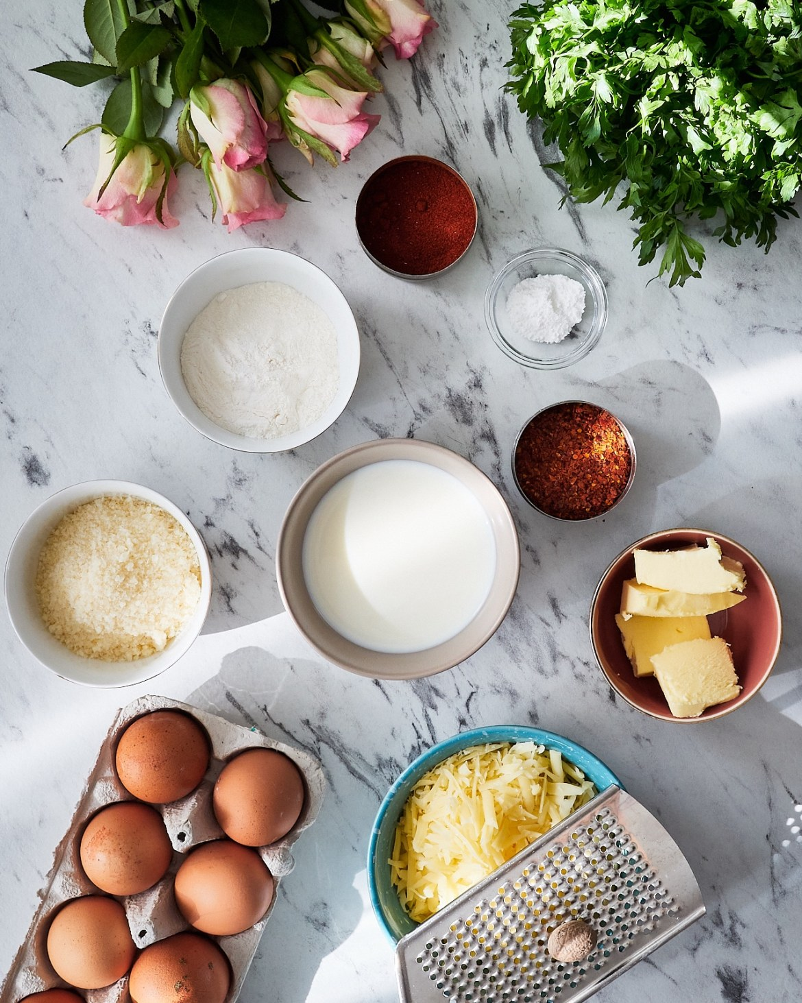 cheese souffle ingredients