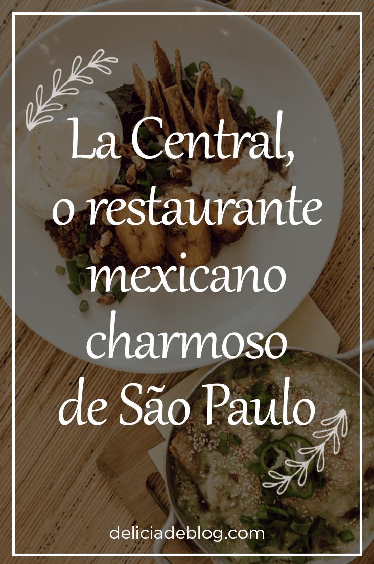 La Central, o restaurante mexicano que fica no terreo do Edificio Copan, em São Paulo.