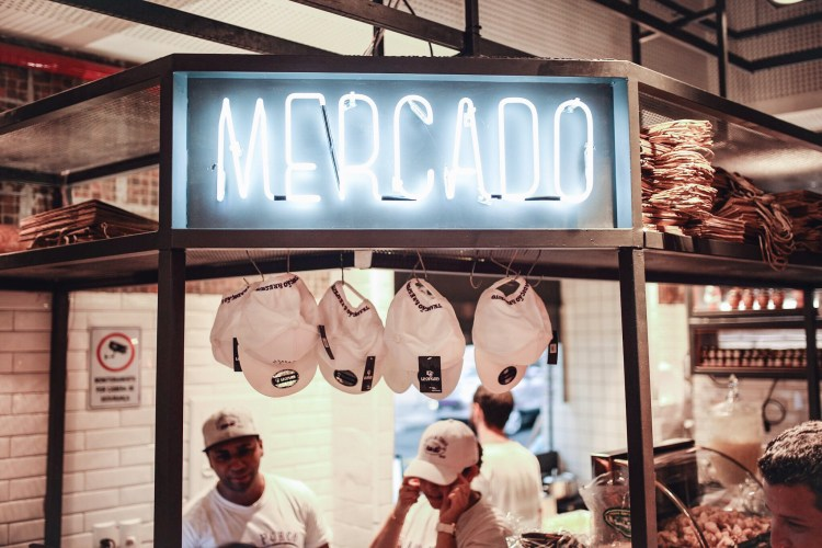 Casa do Porco ambiente mercado
