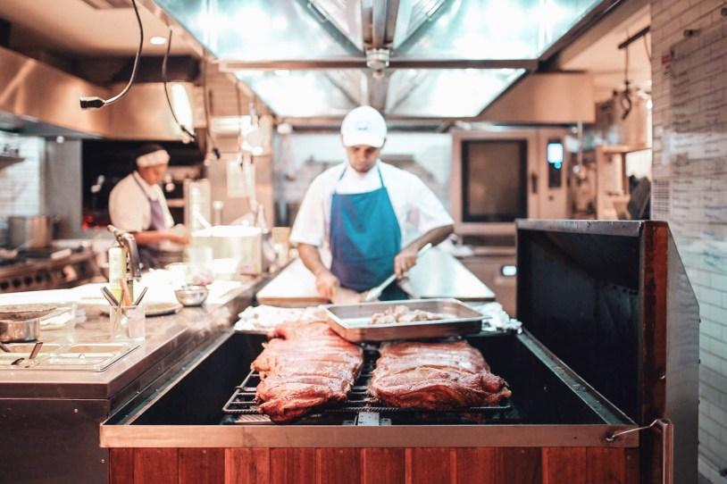 Cozinha da Casa do Porco