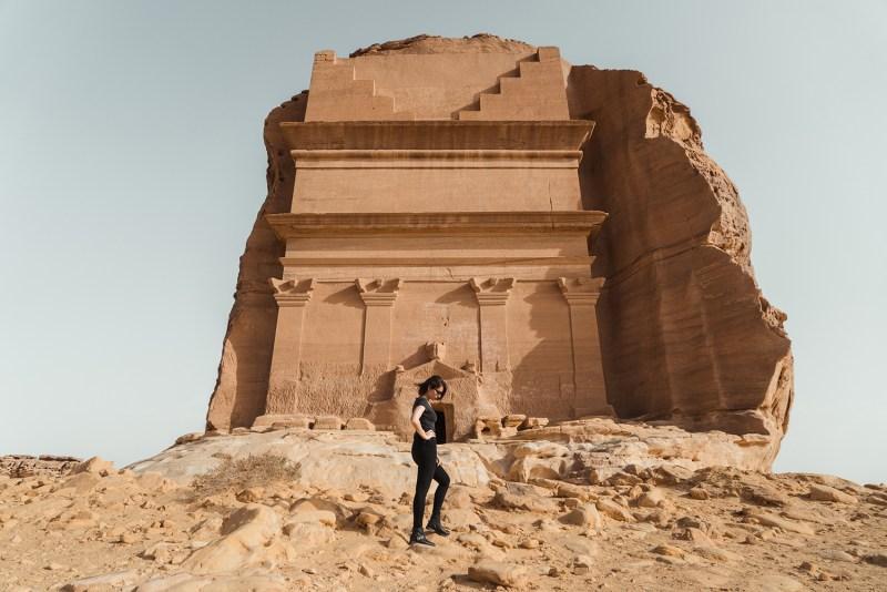 The beautiful desert in Saudi Arabia
