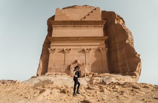 As belezas do deserto na Arábia Saudita