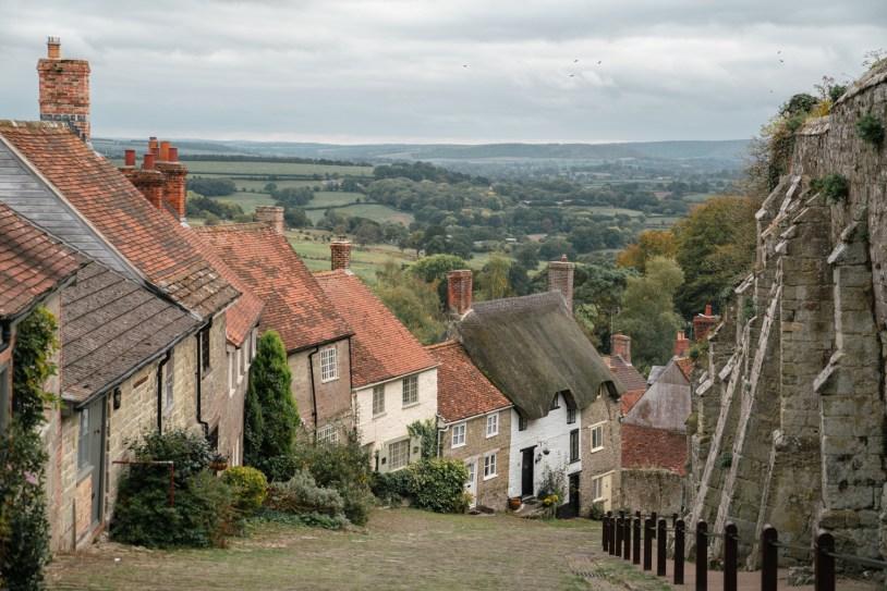 O que fazer em Dorset: a charmosa aldeia de Shaftesbury