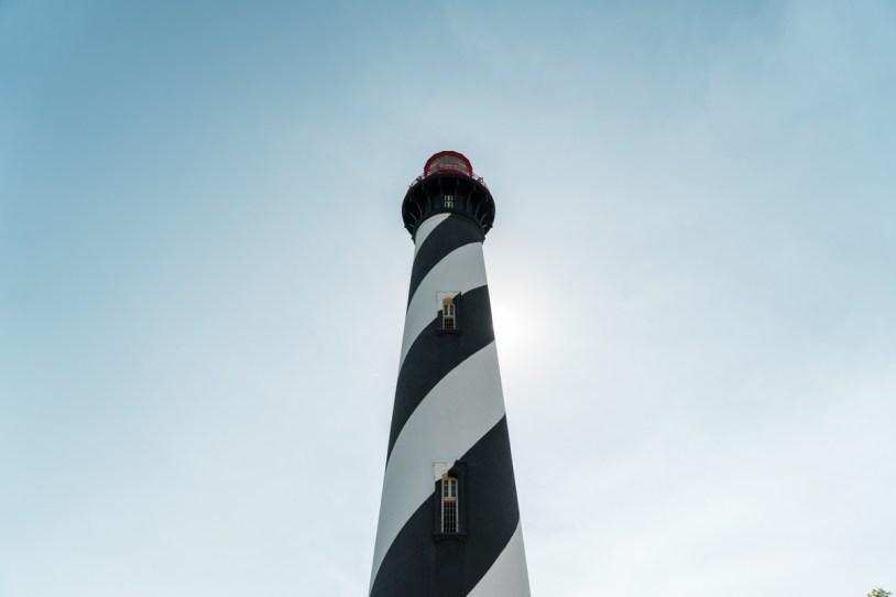 Farol de St Augustine, nos Estados Unidos