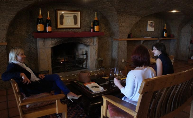 Haute Cabriere, vinicola aberta para degustaçao na Africa do Sul