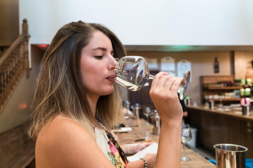 Degustação na Lakeridge Winery, na Florida