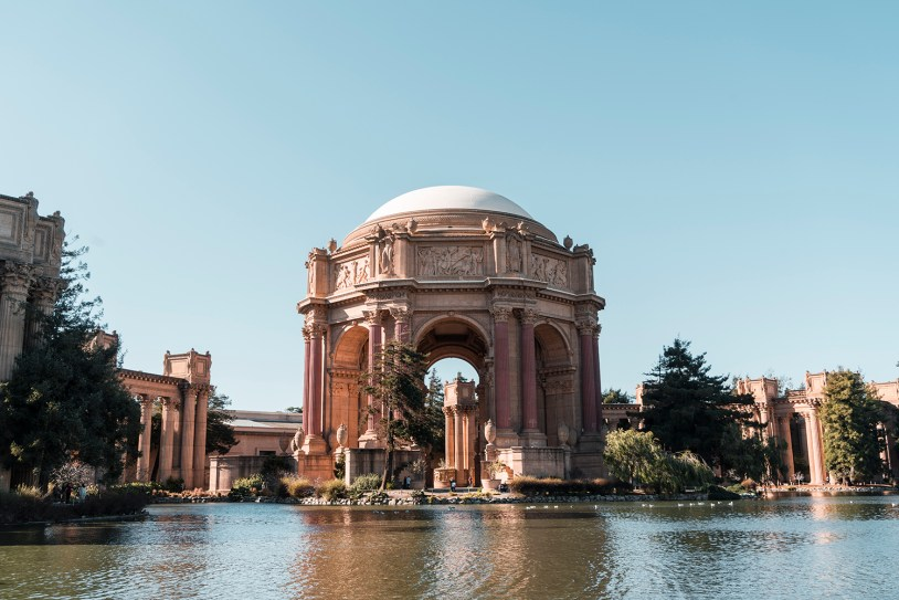 Palace of Fine Arts em San Francisco, California