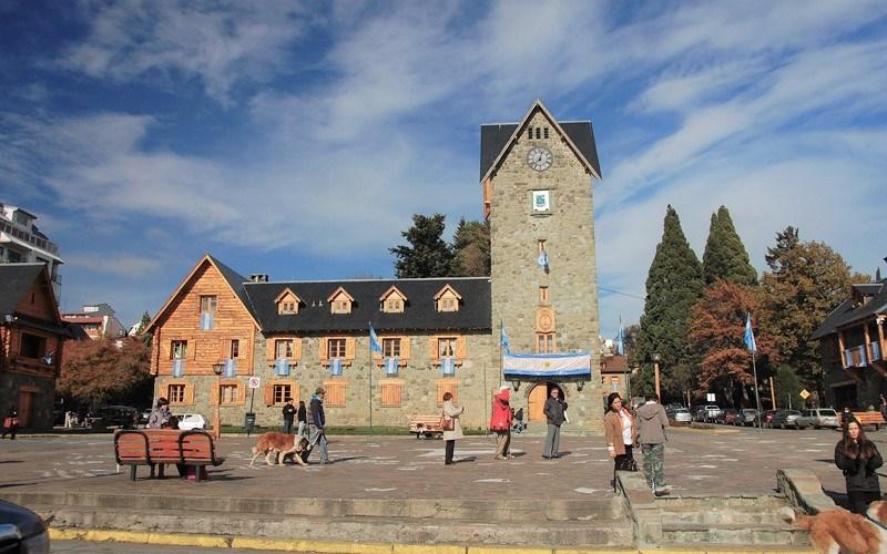 Centro histórico de Bariloche, Argentina