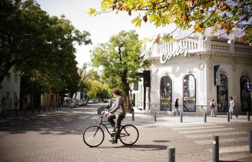 O bairro de Palermo, em Buenos Aires