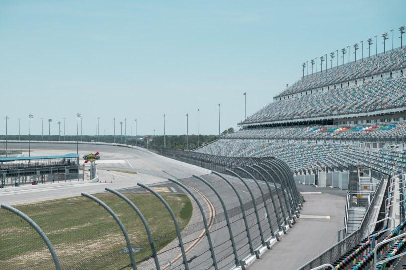 Daytona International Speedway vista panoramica