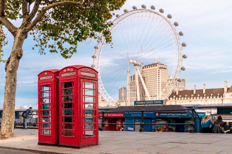 Dicas de viagem em Londres: London Eye, a roda gigante