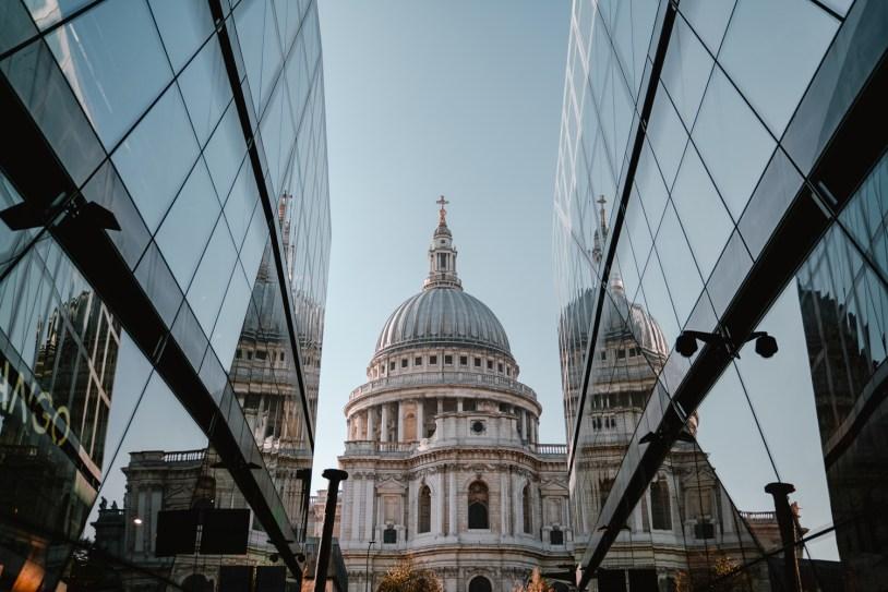 Dica de viagem em Londres: melhor local para fotografar a St Pauls Cathedral