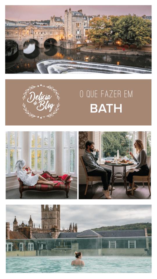 Dicas de viagem na Inglaterra: o que fazer em Bath