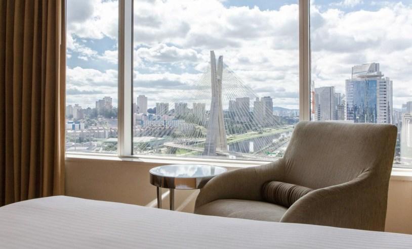 Grand Hyatt Sao Paulo, o hotel com vista para a Ponte Estaiada