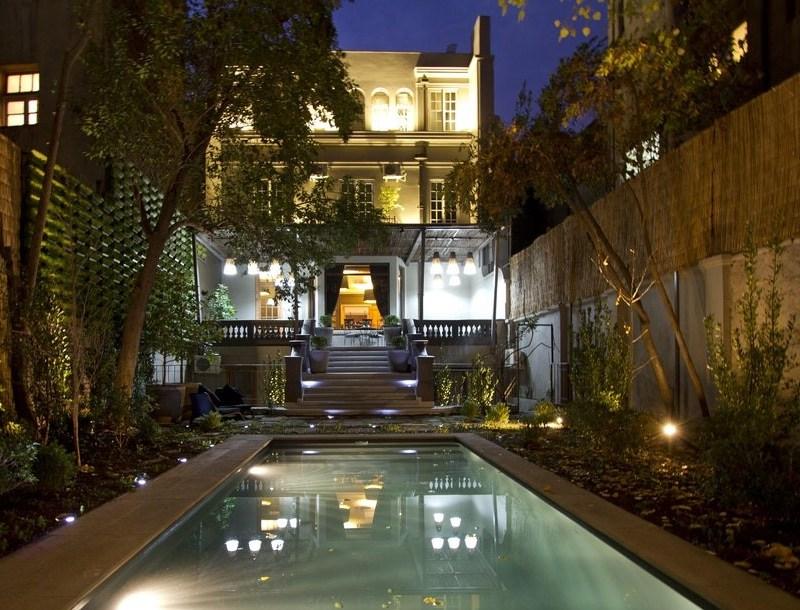 Hotel boutique Lastarria, uma opçao de hotel romantico em Santiago