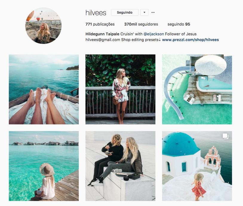 Hilvees e outras mulheres inspiradoras para seguir no instagram