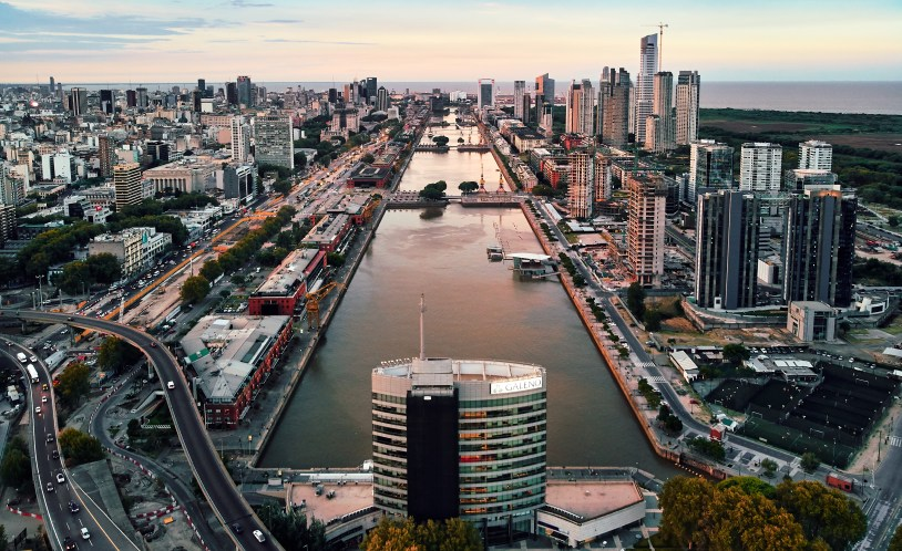 Puerto Madero, em Buenos Aires