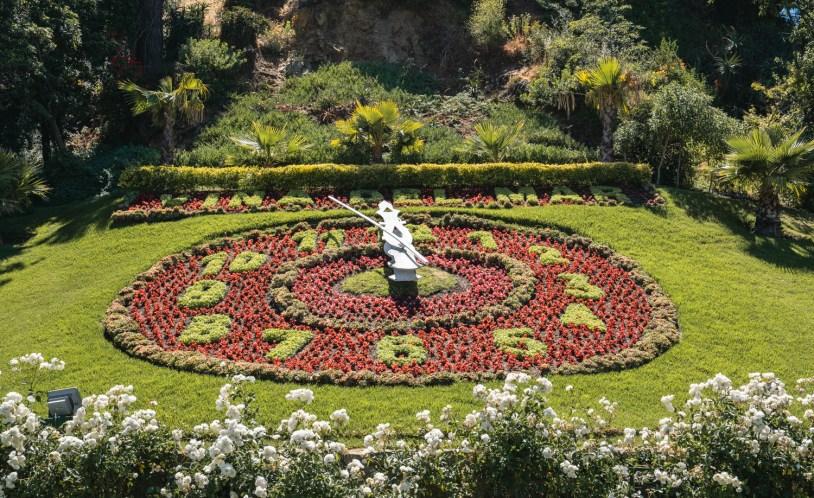 Famoso Relogio de Flores de Viña del Mar, no Chile