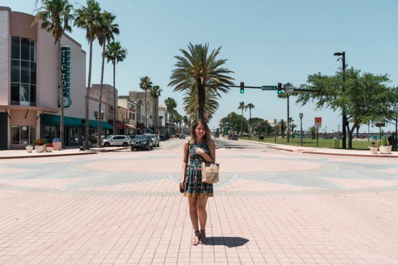 Compra em Daytona Beach, nos Estados Unidos
