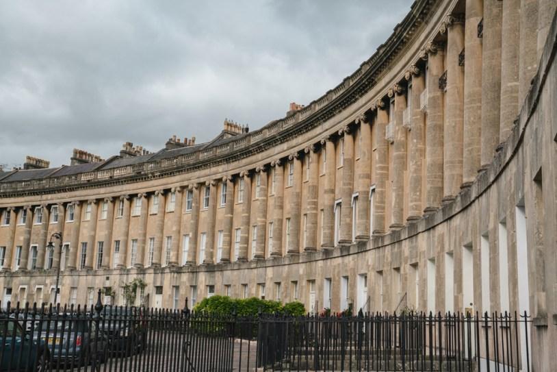 O que fazer em Bath, na Inglaterra: Royal Crescent