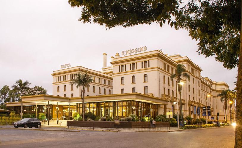 Hotel Paramericano no centro de Viña del Mar, no Chile