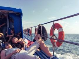 Boat: Koh Pha Ngan - Koh Tao