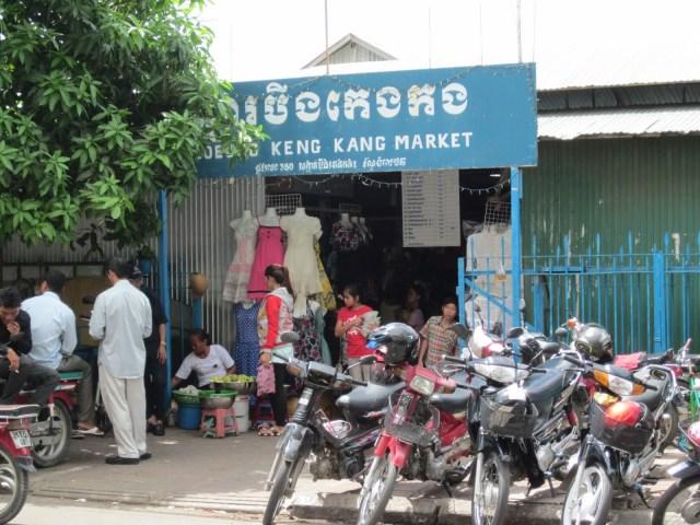 Boeng Keng Kang Market - Delicieuse vie