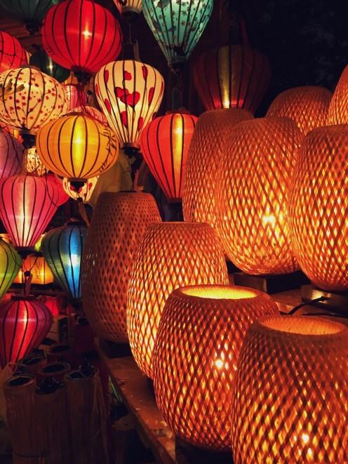Lanternes marché Hoi An Vietnam Delicieuse Vie