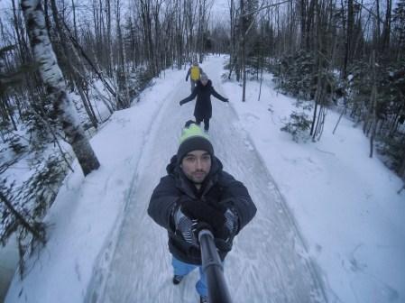 Domaine de la forêt perdue patinage et go pro ©delicieusevie
